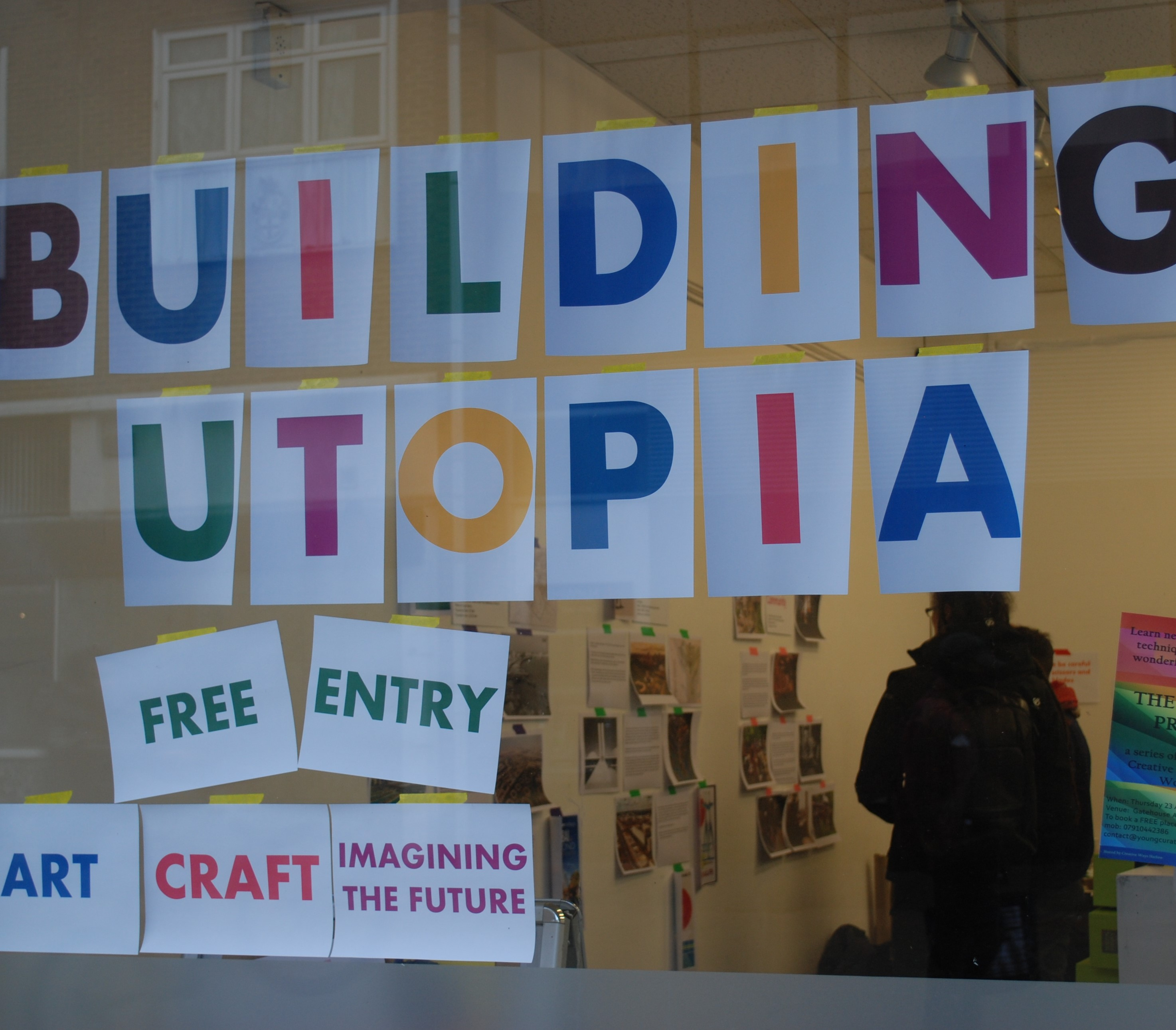 Building Utopia workshop with Gatehouse Arts