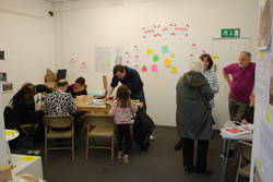 Building Utopia workshop with Gatehouse Arts Workshop