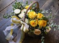 basket yellow