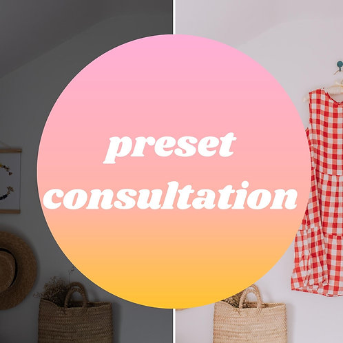 Preset Consultation