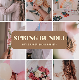 Spring Bundle Mobile Preset