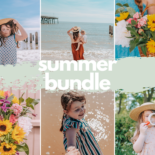 Colourful Summer Bundle Mobile Presets