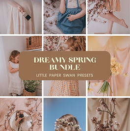 Dreamy Spring Bundle Mobile Preset