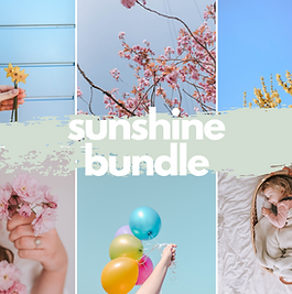 Sunshine Bundle Mobile Presets