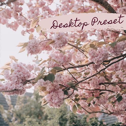 Blooms & Blossoms Desktop Preset
