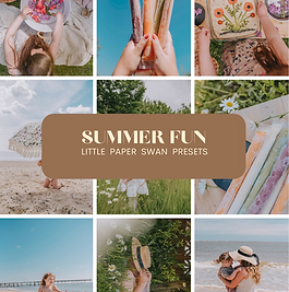 Summer Fun Mobile Preset