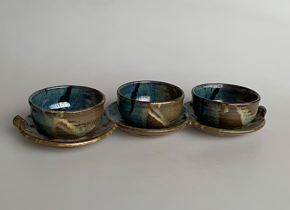 3-Bowl Condiment Set