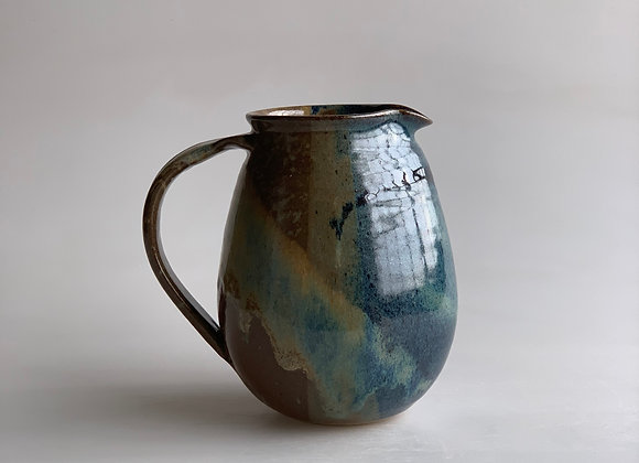 Large Glazed Pitcher