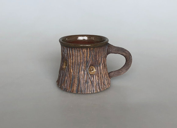Brown Woodland Mug