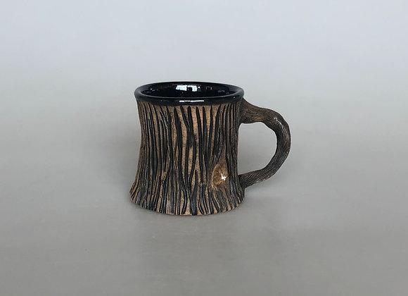 Black Woodland Mug