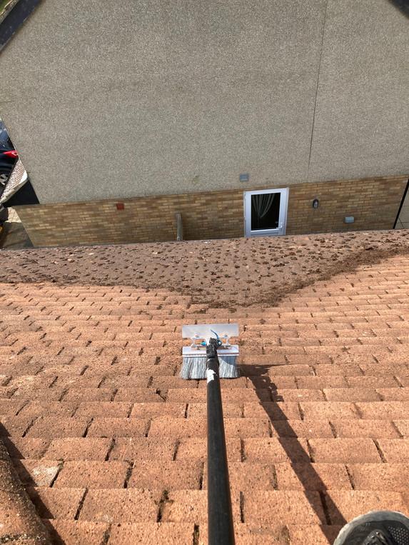 roof scrape