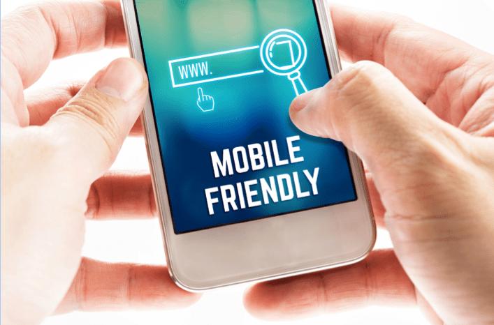mobile optimization of website