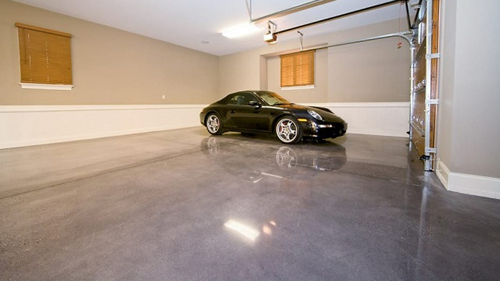 polished concrete garage contractor