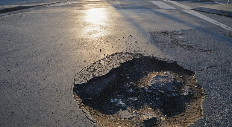 pot hole in euless, texas