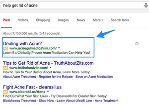 Social Sharks Google Search ads
