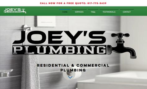 Joey's Plumbing