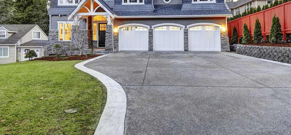 concrete driveway repair in fort worth, texas