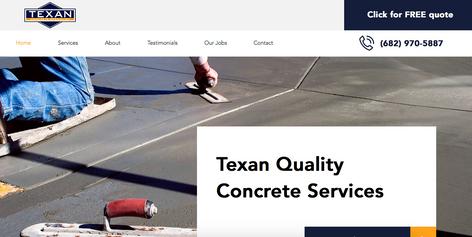 Texan Concrete Specialist