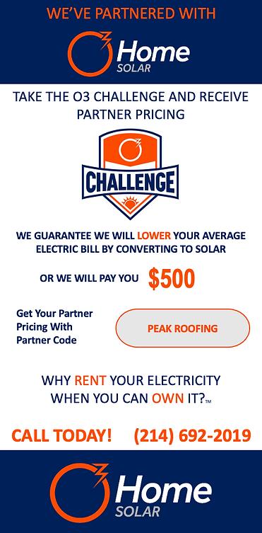 Solar panel roof Grapevine TX - Peak Roofing DFW