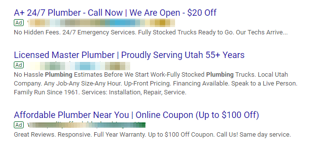 google ads location for local businesses