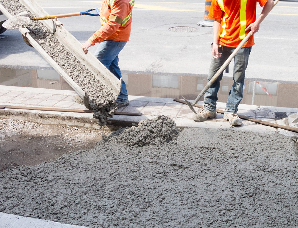 types of concrete used in residential projects