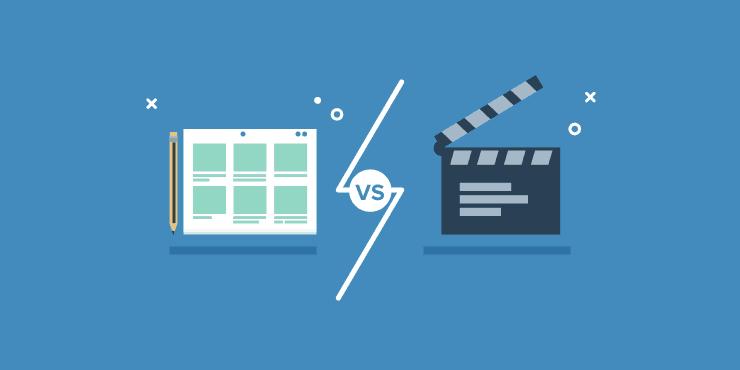 videos vs. images when advertising on social media