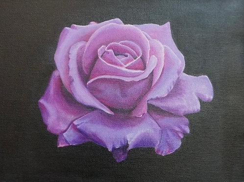 Purple Rose Painting