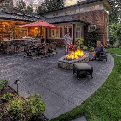 Concrete patio company in Dallas/Fort Worth, Texas