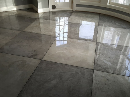 POLISHED CONCRETE VS. STAINED CONCRETE
