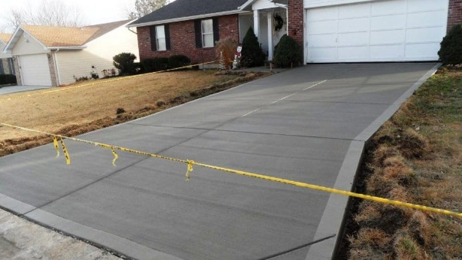 concrete driveway repair euless, texas