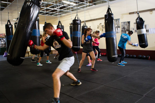 group boxing classes in Keller, Texas