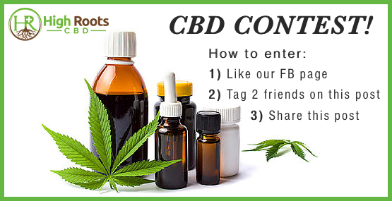 High Roots CBD social media contest
