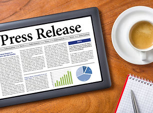 Press release blast - social sharks marketing