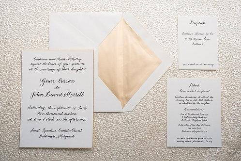 Nice Invitation Writing & Designing