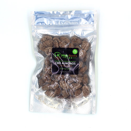200 mg Chocolate Flavored Roasted Almonds Isolate