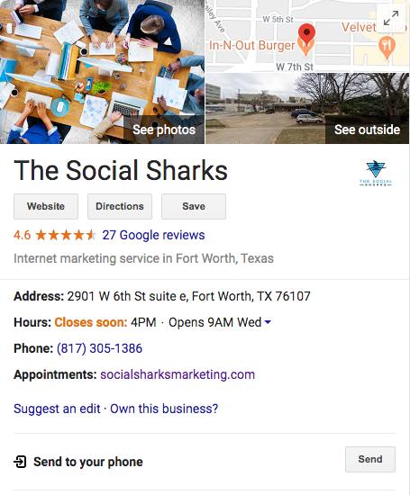 The Social Sharks Digital Marketing Agency Fort Worth, Texas