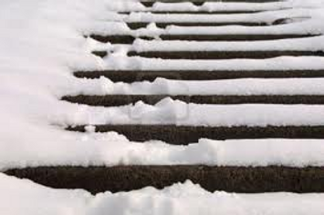Snow on Concrete Steps.png
