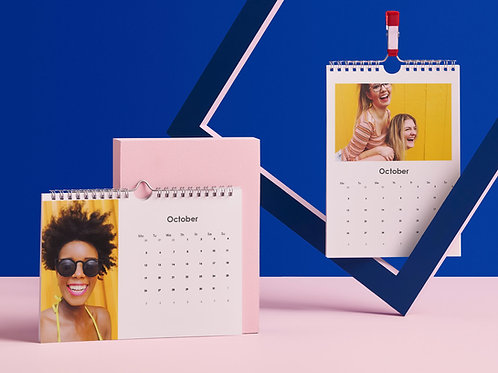 12 Month Yearly Calendar