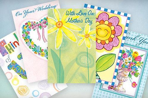 Creative Assortment Greeting Cards