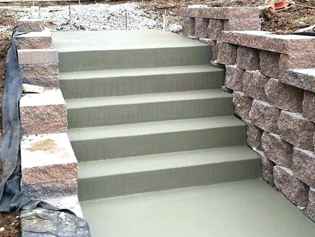 How To Build Concrete Steps In Texas