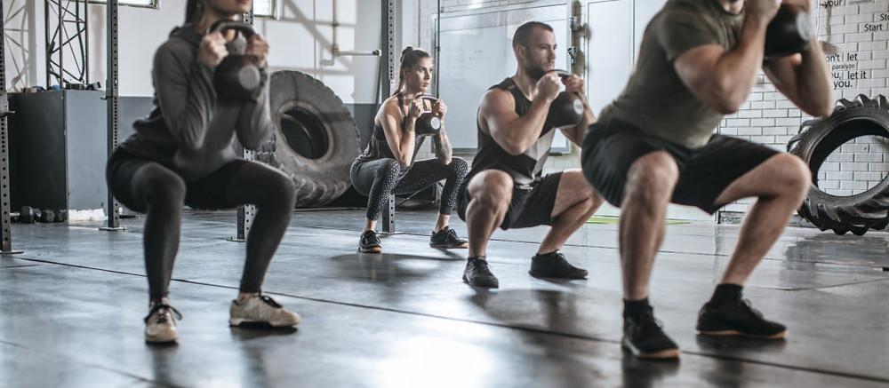 Group fitness training Keller, Texas