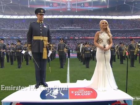 More than just an anthem singer .....