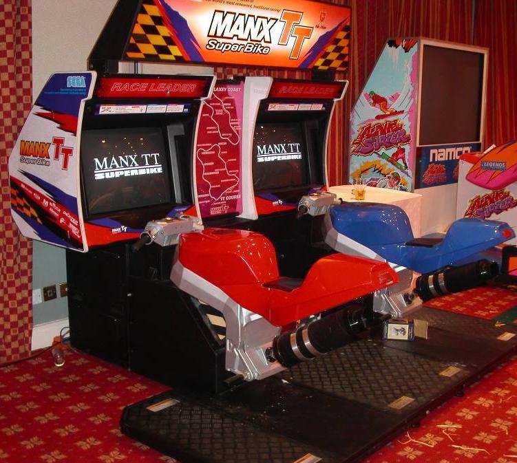 Manx TT Motorbike Simulator