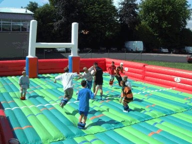 Inflatable Rugby