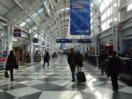 O'Hare Airport AV Audio Visual Malko