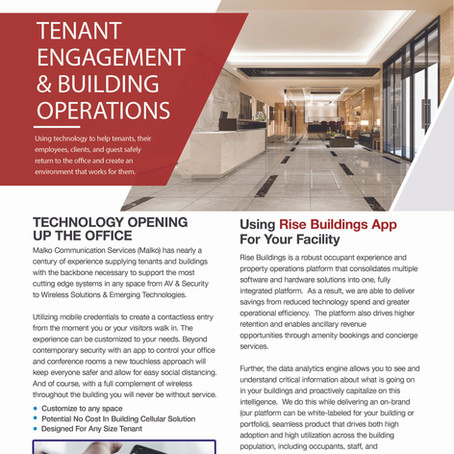 Tenant Engagement & Building Operations