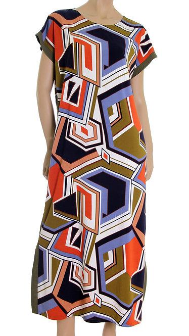 П 892 Платье FLAM абстракция