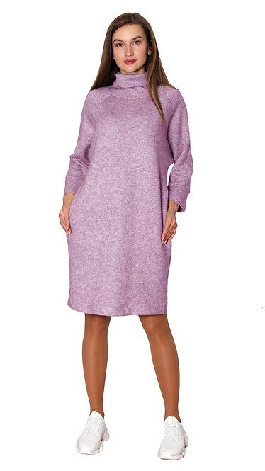 А 664 Платье RIMMA ангора лаванда