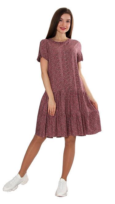 А 622 Платье ALTU капучино