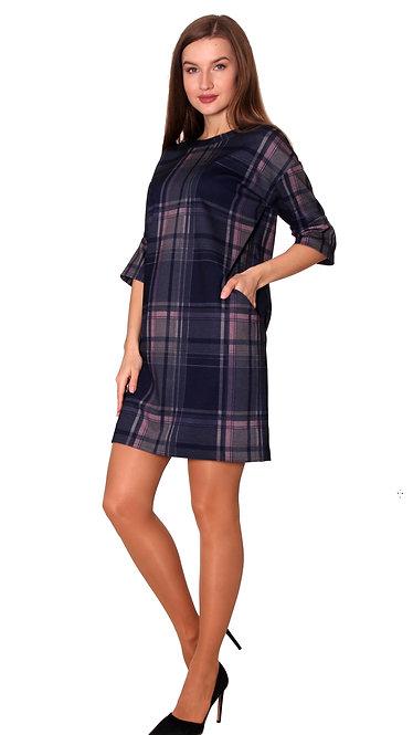 П 691 Платье КИТТИ синий